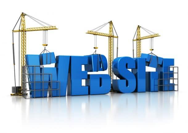 construir website