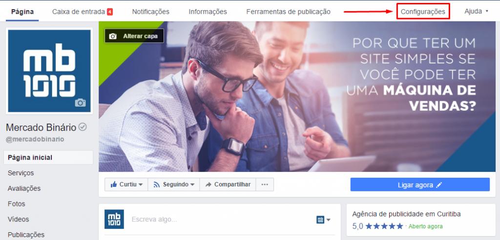 Como colocar respostas automáticas na sua página do Facebook! (1)
