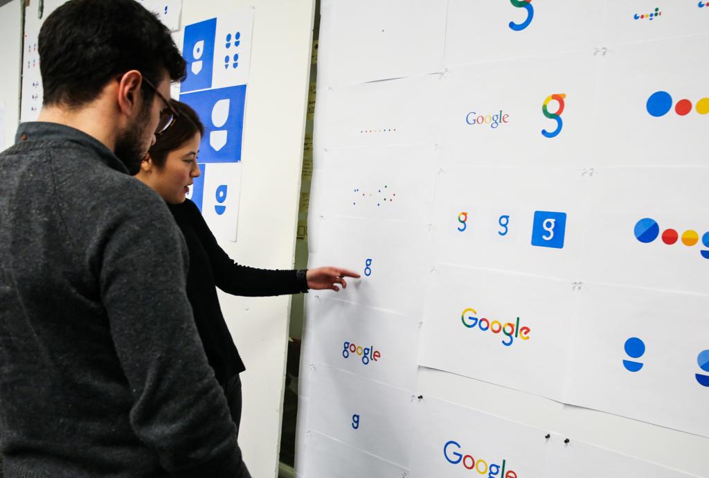 logotipo responsivo Google