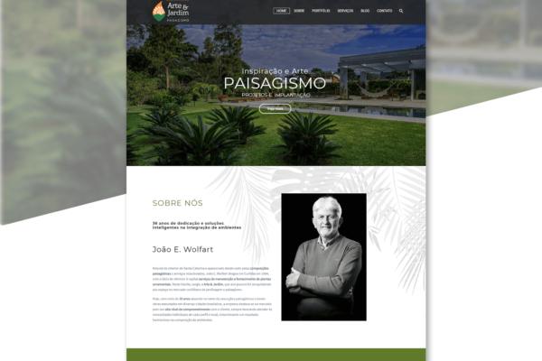 Arte e Jardim – Paisagismo